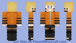 Naruto The 7th Hokage Minecraft Skin