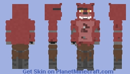 Foxy The Pirate | Five Nights at Freddy's Minecraft Skin