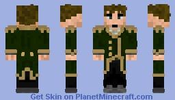 Francesco_GreenSuit Minecraft Skin