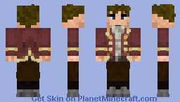 Francesco_RedSuit Minecraft Skin