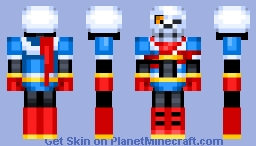 Disbelief Papyrus Minecraft Skin