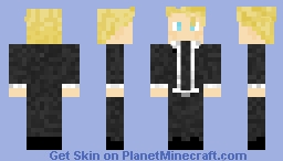 David from Blood+ | Created by my sis Minecraft Skin