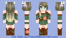 [Kari] Nature's Essense Minecraft Skin