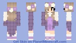 Peony crown 🕊 Minecraft Skin
