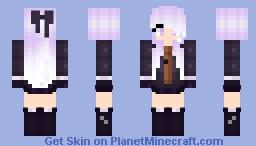 Kyoko Kirigiri San 🔎 Minecraft Skin