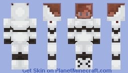 Male Space Cadet Minecraft Skin