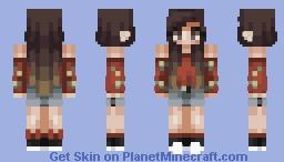 crimson Minecraft Skin