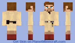 Obi-Wan Kenobi (Star Wars - Episode III) (1.8) Minecraft Skin