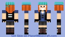 Petra From Mc Story Mode Minecraft Skin