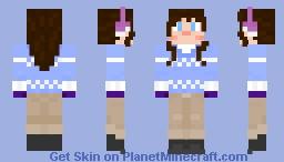 Wintry Lass Minecraft Skin