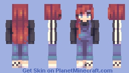 red red wine Minecraft Skin