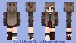 Red Roses ~ i reshaded my reshade contest Minecraft Skin