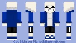 minecraft sans skin