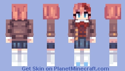Sayori [Doki Doki Literature Club] Minecraft