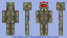Red eyed monster : Half life II (Request) Minecraft Skin