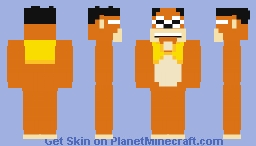 Bingo (The Banana Splits) Minecraft Skin