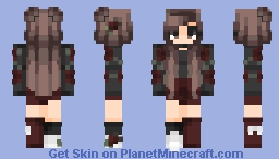 Flowers of Midnight - Contest Entry Minecraft Skin