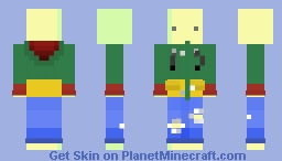 Some Yellow Guy Minecraft Skin