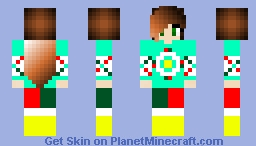 Old Christmas Sweater Skin Reupload Minecraft Skin