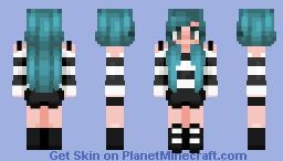 do it for her -- click for 36 hair bases -- color palette challenge -- ɐᴉlǝɥdo Minecraft Skin