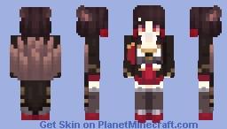 Default Akagi - Azur Lane Minecraft Skin