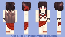 Summer Akagi - Azur Lane (ADJUSTED TAILS) Minecraft Skin