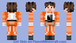 Poe Dameron -- Star Wars Minecraft Skin