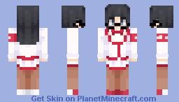 Kuroko Kamenaga - Yandere Simulator Minecraft Skin