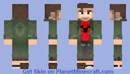 Peter B. Parker Spiderman : INTO THE SPIDERVERSE Minecraft Skin