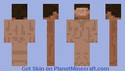 Steve Template Minecraft Skin