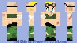 Tank Girl! Minecraft Skin