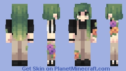 black beatles Minecraft Skin