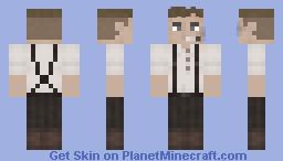 Bookmaker Minecraft Skin