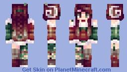 venus ✪ yule Minecraft Skin