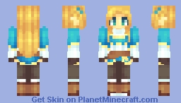 Princess Zelda ✧ BOTW Minecraft