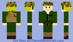 Private First Class Jake Carlson - 1st Marine Division - WW2 Minecraft