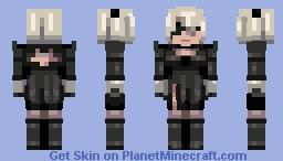 2B ■Nier: Automata■ Minecraft Skin