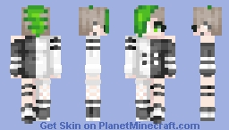 punk girl Minecraft Skin