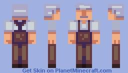 Old Man Minecraft Skin
