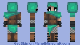 medieval warrior attempt Minecraft Skin