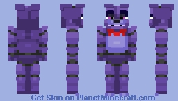 Bonnie The Bunny | FNaF 1 (Alt in Desc.) Minecraft
