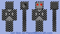 Robot In Chainmail Armor Minecraft Skin