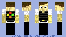 Agent with Tactical Vest Minecraft Skin
