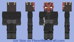 Darth Maul | Star Wars | The Phantom Menace | Episode 1 | 12th Popreel Minecraft Skin