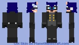 Sonic Forces: Swift Minecraft Skin