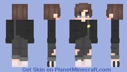 Smile Fake Minecraft Skin