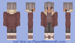 just know i love you like a rose. Minecraft Skin