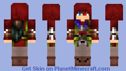 Updated assassin skin (celebration for almost two years) Minecraft Skin