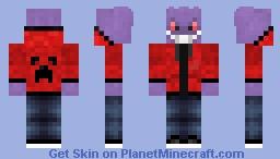 Gengar With A Human Twist Minecraft Skin