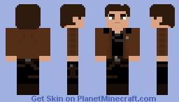 Han Solo - Solo: A Star Wars Story Minecraft Skin